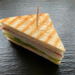 Belegte Sandwich